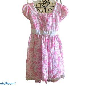 Light Summer Dress size 6 pink floral
